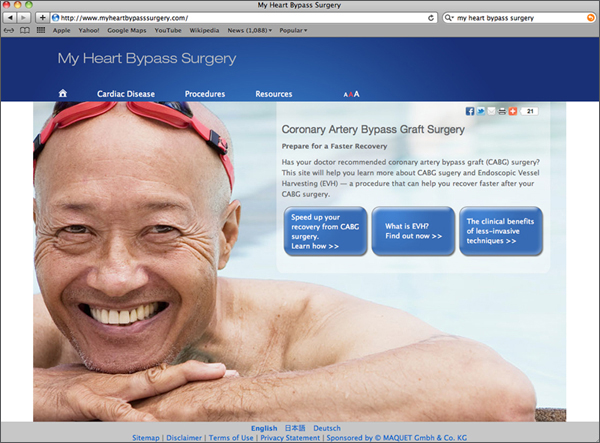 Maquet home page copy